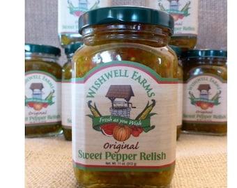 Wishwell Farms Sweet Pepper Relish
