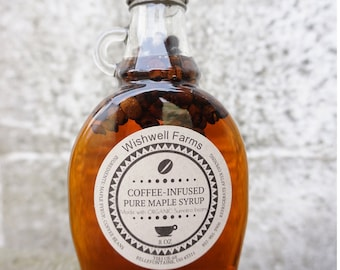 Coffee Infused Ohio Maple Syrup