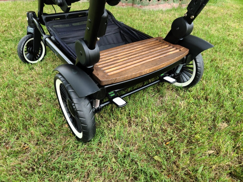 Stained Wood Custom Rider Board
