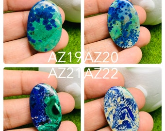 Low Price Top Blue Azurite  gemstone cabochon High Quality Blue Azurite  loose stone for jewellery /& Pendant 78 Cts Wow D-889