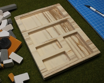 Brick Mold (03) mini slab, wood style