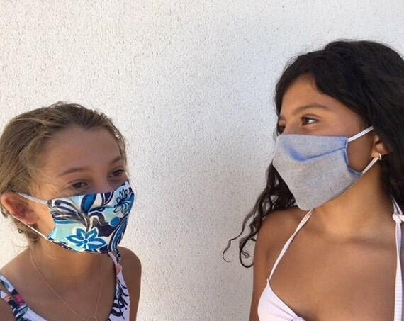 washable primary child masks