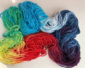HAVANA - #458 in the Urban yarns line of multi-colored rayon chain yarns that are excellent for knitting, crochet, accessorizing,