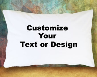 Personalized Pillow Case featuring PATTY in sign letters; Custom pillowcases; Teen bedroom decor; Cool pillowcase; Bedding