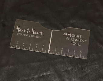 T-Shirt Alignment Guide | T-Shirt Placement | Vinyl Placement | Silhouette | Cricut | Shirt Alignment