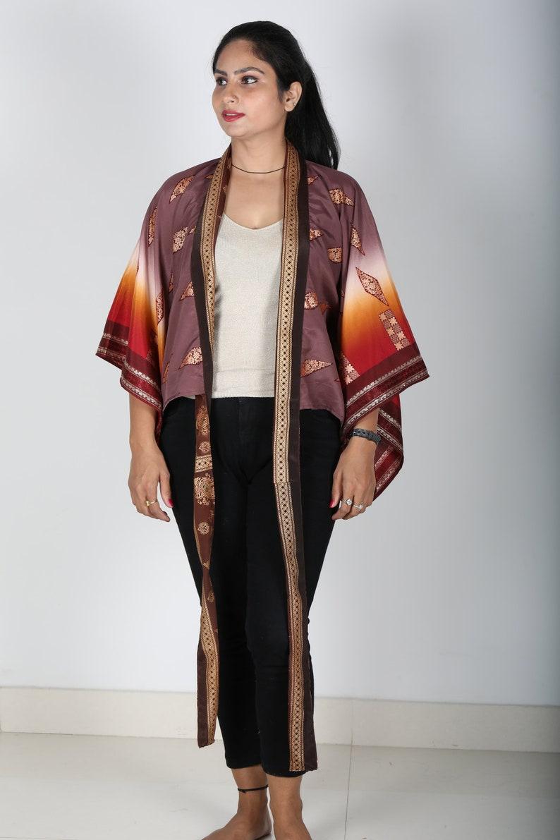 Vintage Dress,Boho Beach Cover up,Hippie Blouse Top,Kimono Robe,Bohemian Kimono,Kimono Top,Bridesmaid Gift,Summer Top,Christmas Gift for Her