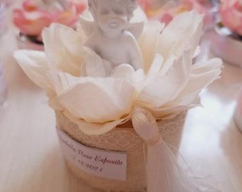 14 Baptism Favors Angels magnet thanks favors Narelo wedding favors gifts event communion favors angel favors