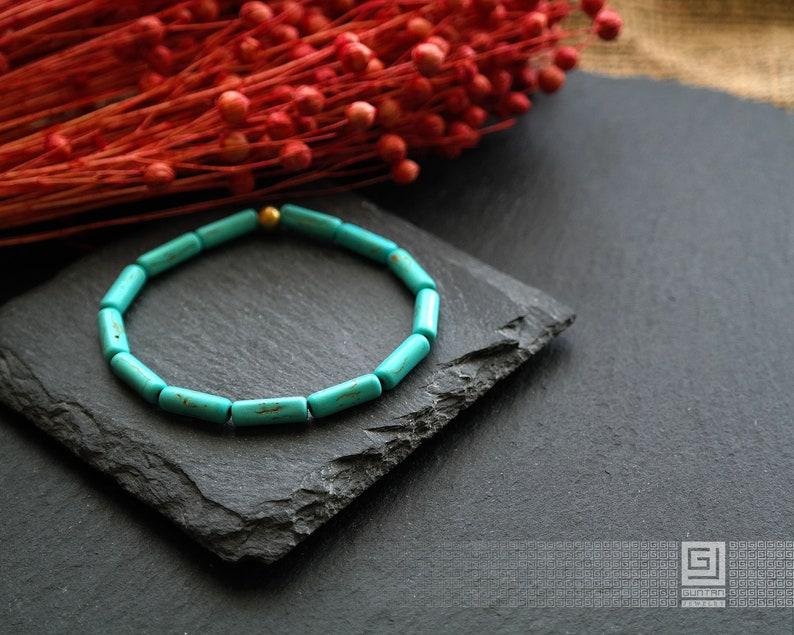 Turquoise Bracelets for Women \u2022 Native American Turquoise Bracelet Men \u2022 Turquoise Jewelry \u2022 Healing Calming Bracelet \u2022 Yoga Mala Bracelet