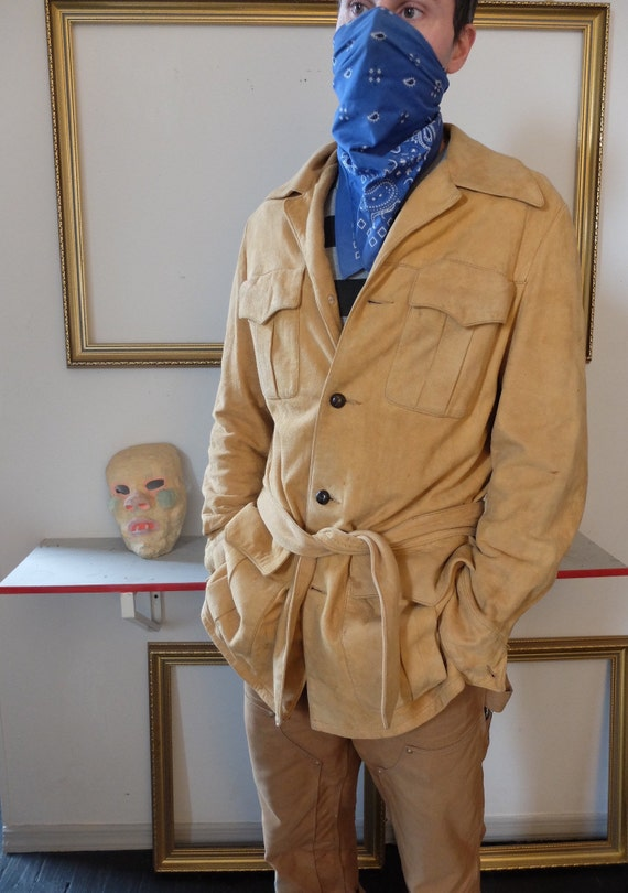 Buttery Suede Safari Jacket