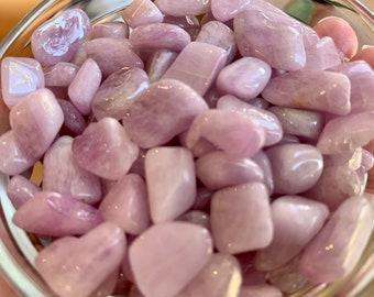 Tanzanite and multi colour kunzite crystalline nuggets