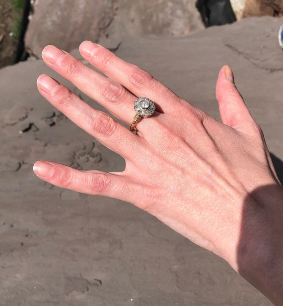 Antique Victorian Engagement Ring - image 3
