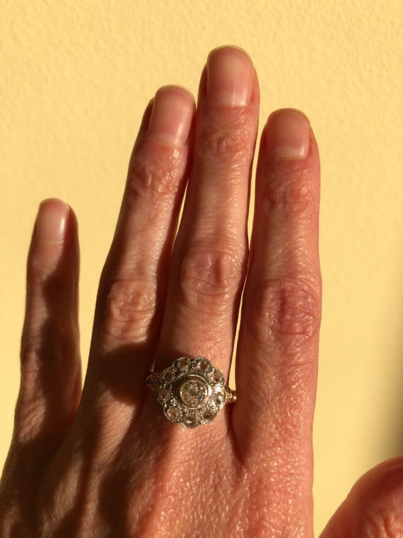 Antique Victorian Engagement Ring - image 2