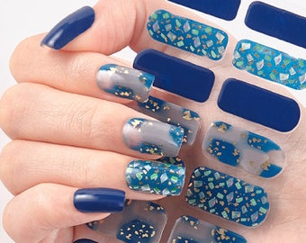 In Pieces - 14pc Fingernail Wraps - Nails Like Royals