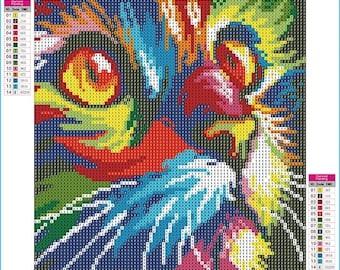 Square Diamond Painting Kit - 2 Options - 30cm x 30cm