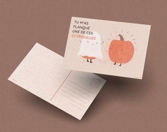 POSTCARD 01 : Pumpkin