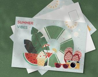POSTCARD 01 : Summer vibes