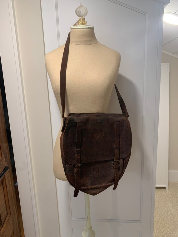 WWI Saddle/Messenger Bag