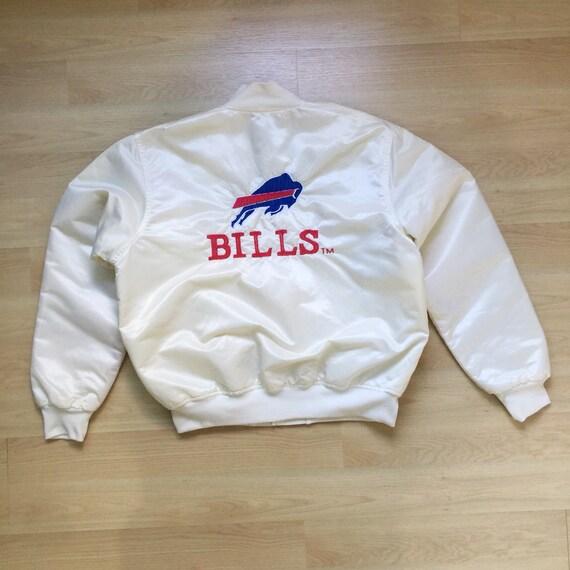 Vintage Buffalo Bills NFL Football Bomber Satin Ja