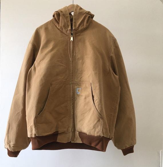 Vintage Carhartt Chore Hoodie Jacket USA