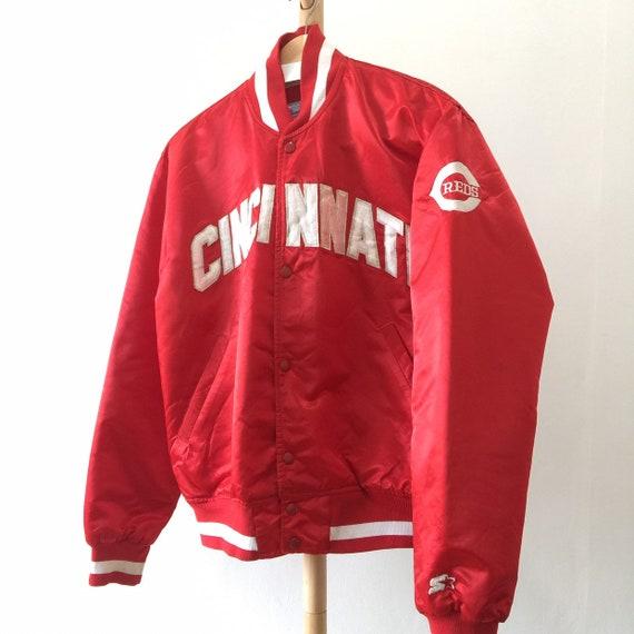 Vintage Cincinnati Diamond Starter MLB Bomber Jack