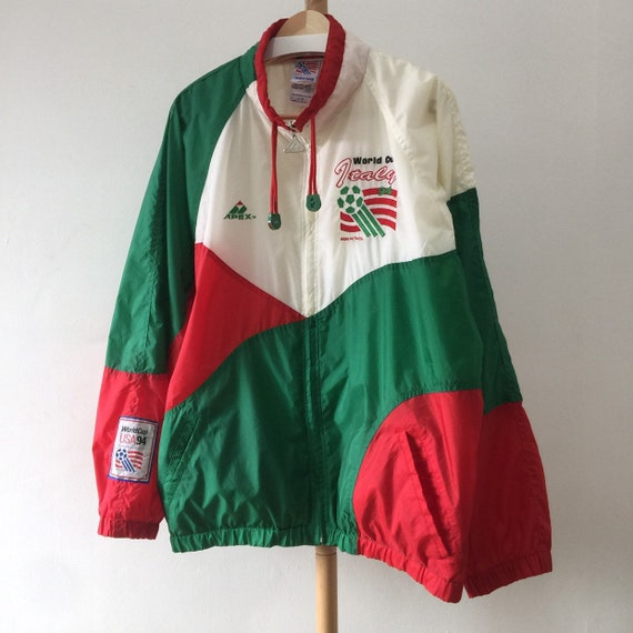 Vintage 1994 World Cup Italy Apex One Jacket (L)