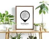 Location Pin, Wall Print, Personalised, Home Decor, A4 Print, Travel Inspired, Poster