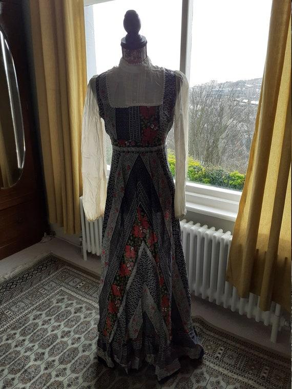 High neck Prairie Dress