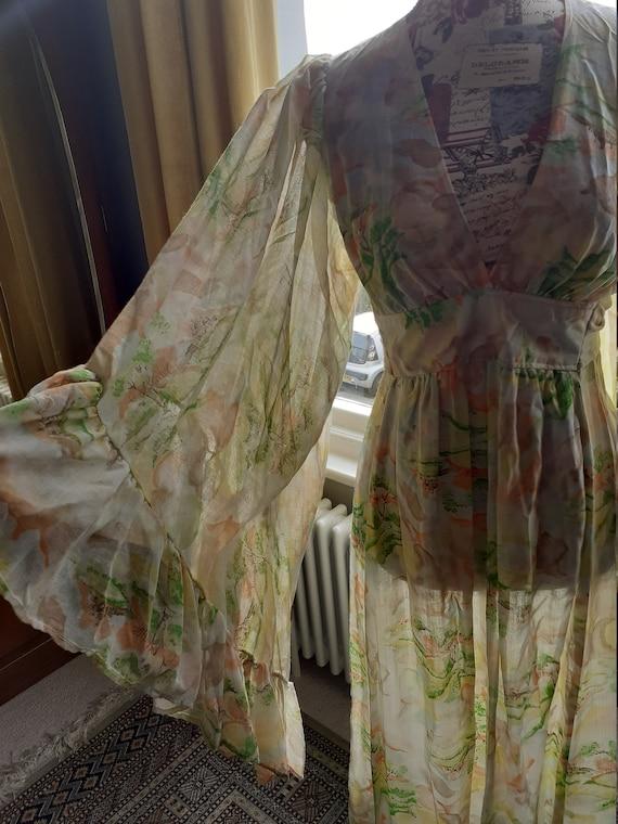 Angel Sleeve Summer Dress