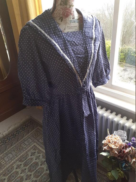 Laura Ashley Vintage Sailor Dress - image 2