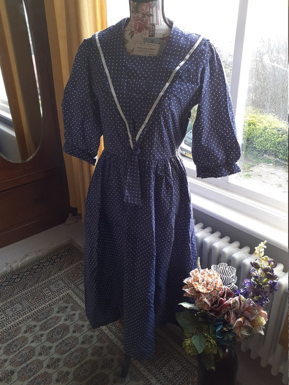 Laura Ashley Vintage Sailor Dress - image 5