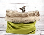 Cosy cave, Cave dog, Cave greyhound, Dog bed luxury, Dog blanket fur, Greyhound cave