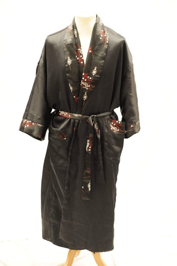Vintage 1990s reversible Chinese robe
