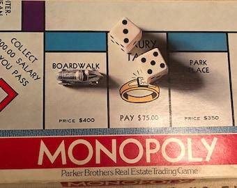 Vintage 1961 Parker Brothers Monopoly Game - COMPLETE, 1961 Monopoly Game, 1974 Monopoly