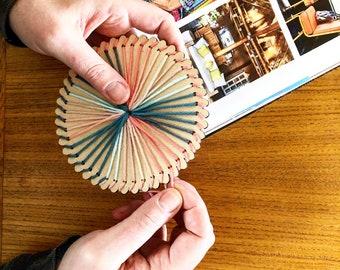 Mindful String Art DIY - Color Wheel