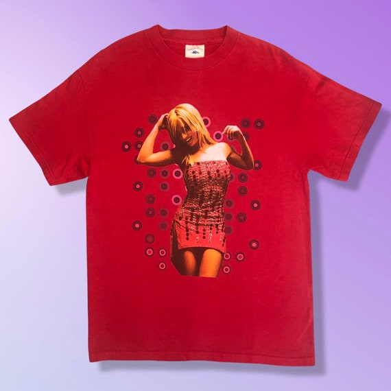 2002 Britney Spears Dream Within a Dream Tour Tee - image 1