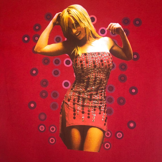 2002 Britney Spears Dream Within a Dream Tour Tee - image 3