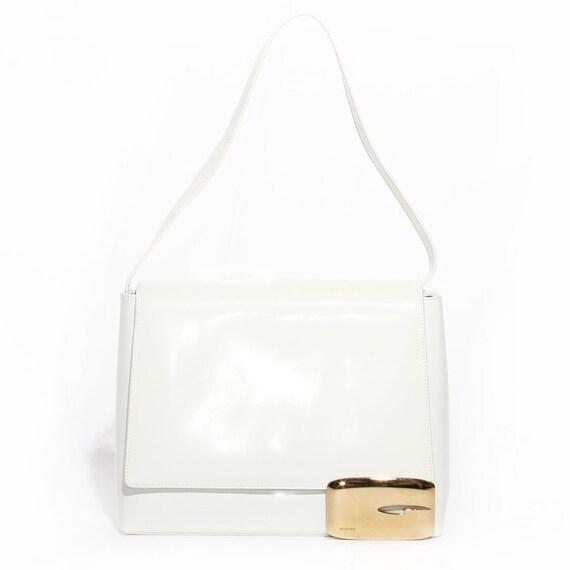 Gucci Patent Leather Shoulder Bag (Tom Ford Era)