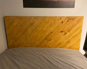 The Northwoods Headboard ONLY Rustic Knotty Pine Made in USA