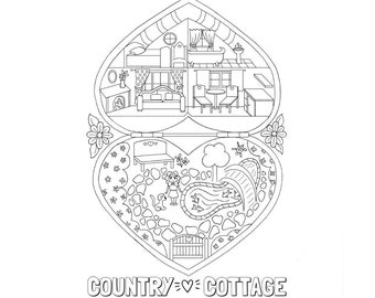 80s Coloring Page Etsy