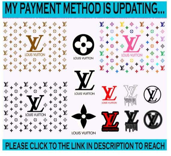 Louis Vuitton Svg, LV Bundle, Brand Logo Svg, Louis Vuitton Pattern, Cricut File, SIlhouette Cameo Svg, Png, Eps, Dxf