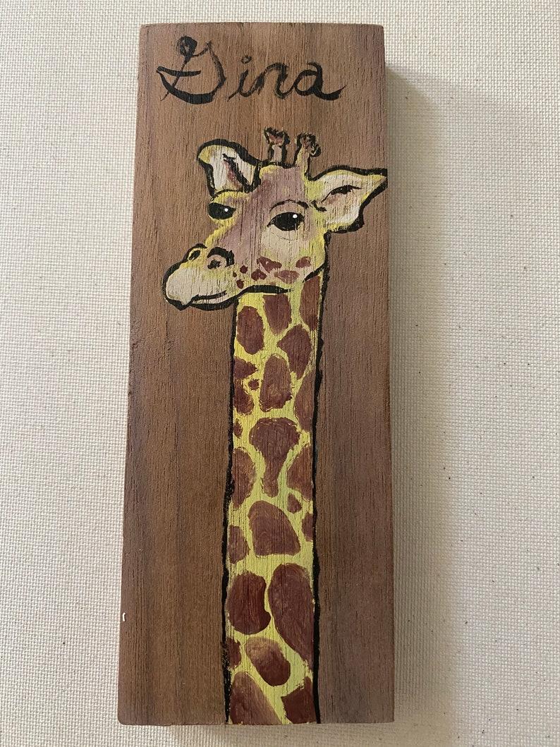 Gina the Giraffe image 0