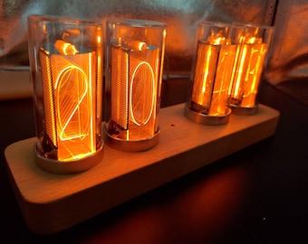 Nixie Tube Style LED Clock Alarm