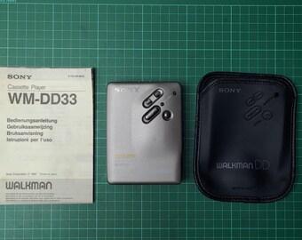 Sony Walkman WM-DD33 - New center gear, Fully Working