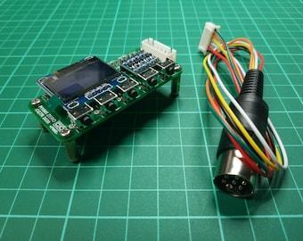 pi1541 Zero Hat (for Pi Zero) Floppy Drive emulator for Commodore C64 / C128 / C16 / plus 4