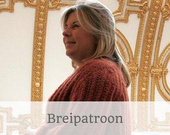 BREIPATROON Bernadette 2.0 I vest l cardigan I oversized