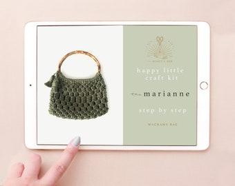 DIGITAL PATTERN: The Marianne Macrame Bag