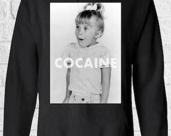 Cocaine Drugs High Fun Men Women Unisex Top Hoodie Sweatshirt 1337