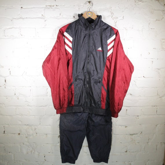 Vintage 2in1 Set Tracksuit Tracksuit Sports Set Si