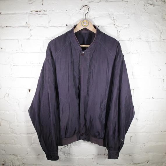 Vintage 90s Silk Blouson Size XL