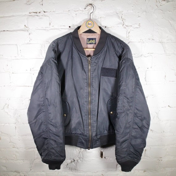 Vintage Bomber Jacket Jacket M Lee
